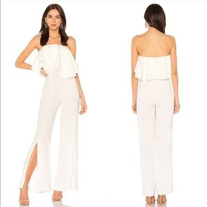 NEW C/Meo Collective White With You Jumpsuit